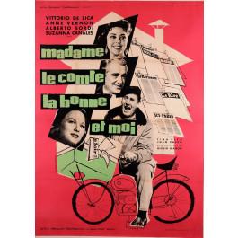 Movie Poster Advertising  Vittorio de Sica
