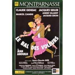 "Posters Original Vintage French Movie Poster for  Mont Parnasse ""Le Bal Des Voleures"""
