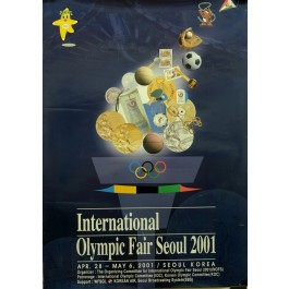 Original Poster to advertise the Olympic Fair in Seoul 2001