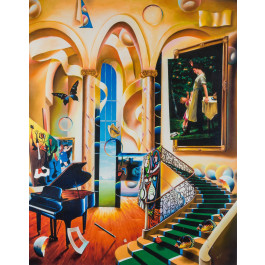 "Ferjo  ""Green Stairs"" 2006 