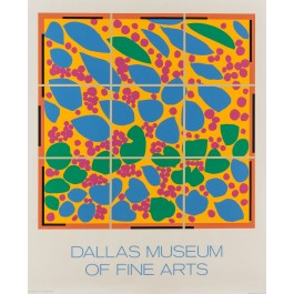 Original Lithograph for Dallas Museum by Pace Edition Inc.