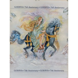 Godiva Chocolate 75th Anniversary Poster