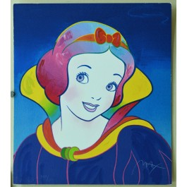 """Limited Edtion Serigraph """"Snow White"""" Disney PETER MAX Hand Signed"""