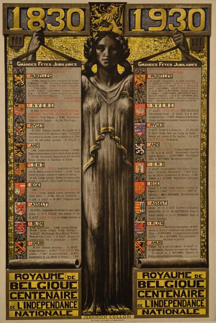 Royaume de Belgique Centenaire de L'indépendance National