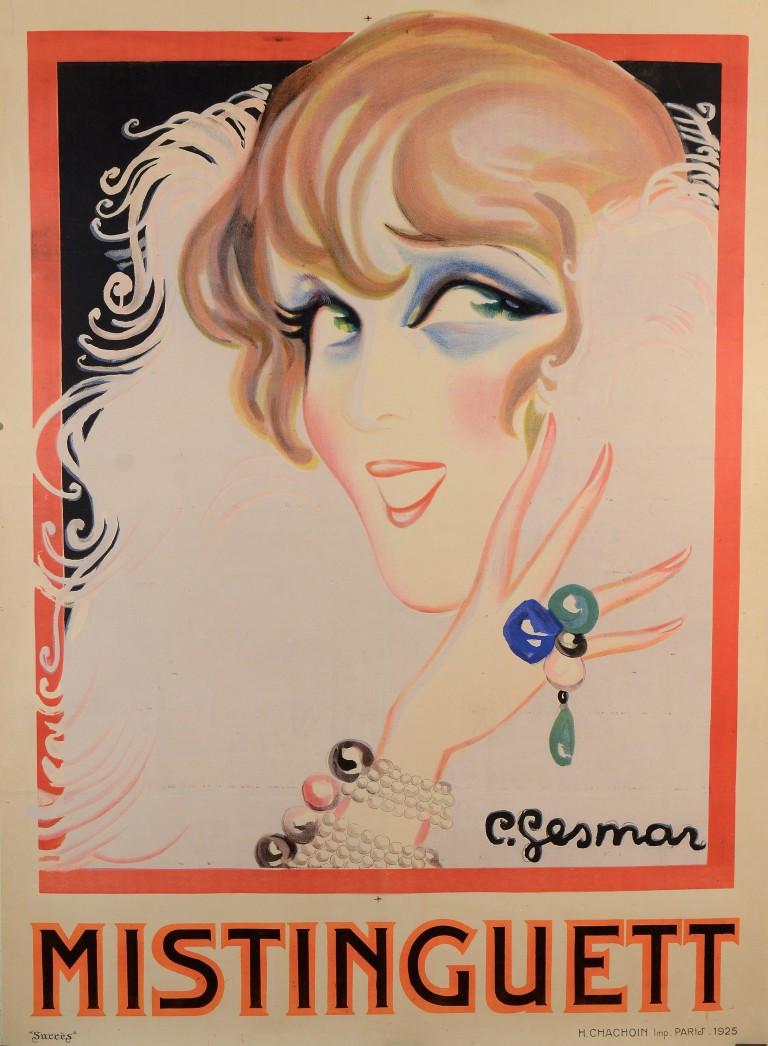 Classic French Poster Mistinguett
