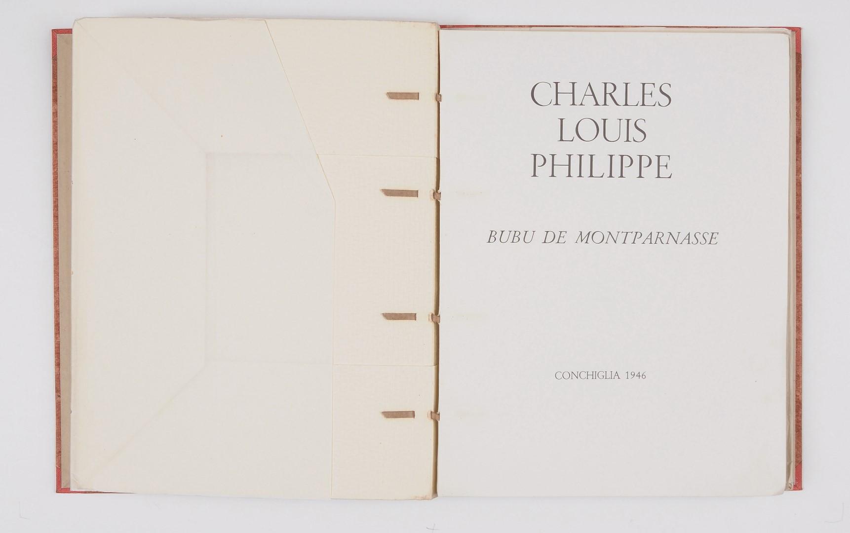 "Charles Louis Philippe ""Bubu de Montparnasse"" A. Sassu No. 68/100"