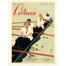 Original Vintage Italian Advertising Poster - La Lettura Magazine