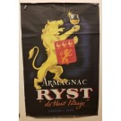 "Original Vintage French Poster ""ARMAGNAC RYST"" 1946"