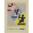 Original Vintage French Advertising Poster DUBON DUBONNET Quinquina - CASSANDRE