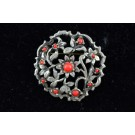 Vintage Fashion Jewellery Floral Pin Brooch