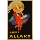 "Original French Advertising Alcoholic Drink Poster ""Biere ALLARY"" by Jean d'Ylen ca. 1900"