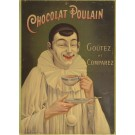 """Original French Advertising Poster """"Chocolate Poulain"""""""