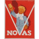 "Art Deco French Advertising Poster for Soap ""NOVAS"""