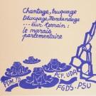 "French Student Revolution Poster ""RATP TIENDRA"""
