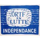 """Vintage French 1968 Student Revolution Poster """"ORTF EN LUTTE"""""""