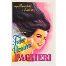 """Original Vintage Italian Poster for Brillantina """"Paglieri Felce Azzurra"""" by Moltrasio 1930's"""