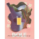 "Advertizsing Poster ""Dole Pineapple Juice"" by Cassandre 1938"