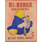 "French Advertising Poster ""Bi-Borax Oriental"" F. Poulbo"