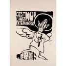 "French Student Revolution Poster ""C´est moi l´ange"""