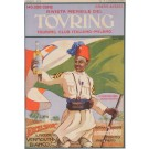 "Original Vintage Small Italian Alcohol Poster for ""Tovring"" Vermouth by U.D. 1913"