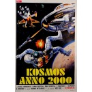 "Original Vintage Italian Movie Poster ""Kosmos Anno 2000"" ca. 1973"