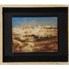 "Original Signed Painting Oil on Wood - ""JERUSALEM"" 2011 by Kim Tkatch"