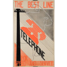 ART DECO Maquette The Best Line - TELEPHONE for Speed and Service