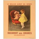"Original Vintage French Poster for ""Racahout des Arabes"" by Cappiello ca. 1900"