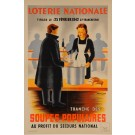 Loterie Nationale  -Soupes Populaires by P.Besniard