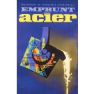 "Original French Poster ""Emprunt Acier"" by Eric ca. 1955"