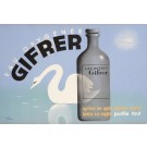 "Original French  Art Deco Pharmaceutical Advertising Poster ""GIFRER"" by Jean Carlu"
