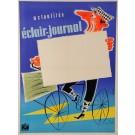 "Original Vintage POSTER for Film Industry Newspaper ""Eclair – Journal"" 1950´s"