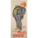"""Original Vintage French Poster """"Folies Bergère Cabaret"""" by Daniel de Losques"""