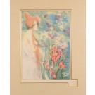"Original Lithograph ""FLEUR DE MAI"" by Henri Héran for L'Estampe Moderne 1897"