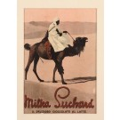 "Original Vintage Advertising Card for ""Milka"" by Suchard 1940's"