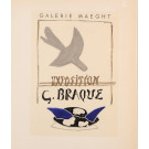 "Original Lithograph ""Galerie Maeght"" by G. BRAQUE for ""Affiches Originales"" 1959"