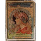 Original Vintage Cardboard Poster Chocolat Dauphin  ca. 1920 - RARE!