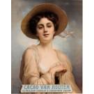 "Original Vintage Dutch Poster Chocolate ""Cacao Van Houten"" by X. PIOX ca. 1920"