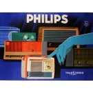 Original Vintage Advertising Poster for PHILIPS Radio and Television by Eric 1961