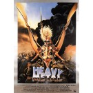 "Original Vintage Italian Movie Poater ""Heavy Meatal"" Columbia Pictures 1981"