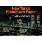 "Original Vintage Poster Advertising ""Daily News - New York's Hometown Paper"""
