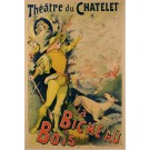 "Original French Poster ""La Bicheau Bois - Theatre du Chatalet"" by A. Choubrac"