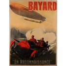 "Original Vintage French Advertising Poster for ""Bayard"" Car by Ernest Montaut"