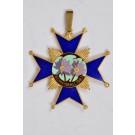 "Vintage Brass Enamel German Pendant ""Blumenball 1967"" by DESCHLER MUNCHEN 9"