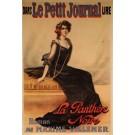 "Original French OVERSIZE Poster ""Le Petit Journal"" by Frédérique Vallet-Bisson"