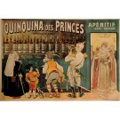 "Original Vintage French OVERSIZE Alcohol Poster ""Quinquina des Princes"" by Oge"