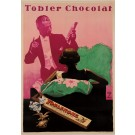 """Original Vintage German Poster for """"Tobler Chocolat"""",  ca. 1925 , by Ludwig Hohlwein (1874-1949)"""