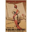 "Original Vintage French Poster Advertising ""Emprunt National"" National Loan by Merinnier 1920"
