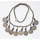 Artisan Handcrafted Ethnic Tribal Jewelry Bellydancing Coin Necklace