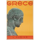 "Original Vintage French Poster ""Grece - L'Aurige - Musee de Delphes"" Greece 1947"